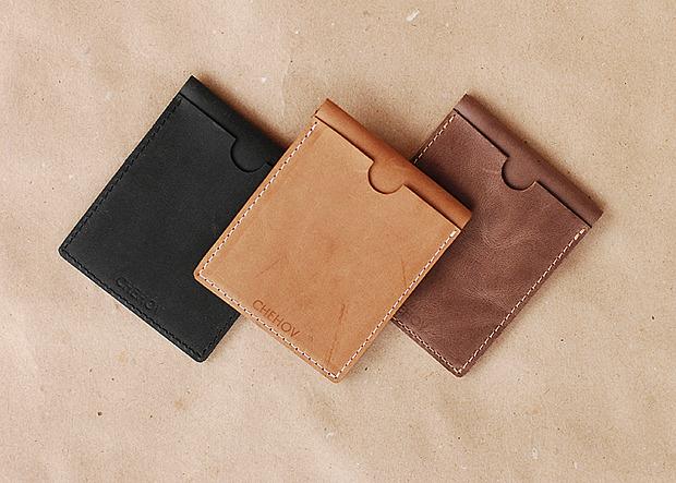 Московская марка бабочек и галстуков Chehov выпустила коллекцию кожаных изделий. Изображение № 2.