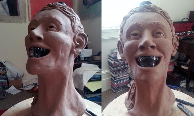 Шотландец восстановил лицо человека по черепу с бутылки водки Crystal Head. Изображение № 7.