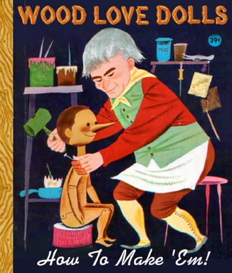 Иллюстратор Боб Стэйк создал пародии на обложки старых детских книжек   . Изображение № 22.