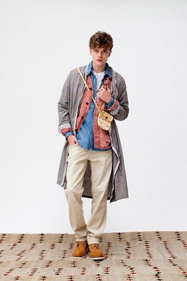 Японская марка Visvim опубликовала лукбук весенней коллекции одежды. Изображение № 9.