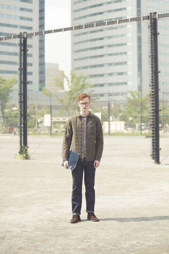 Марка Head Porter Plus опубликовала лукбук новой коллекции. Изображение № 12.