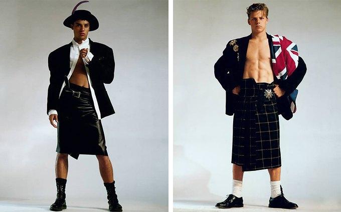 Фото геев в платьях юбках фото 279-248