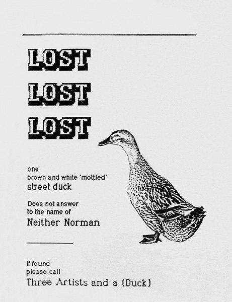 Художник превратил объявления о пропаже животных в арт-проект. Изображение № 5.