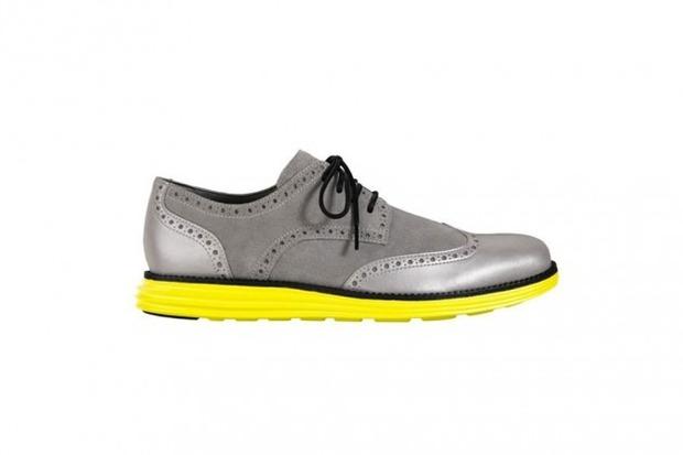 Марка Cole Haan выпустила две новые модели обуви с подошвой кроссовок Nike Lunar. Изображение № 7.