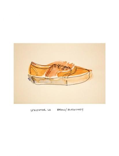 Иллюстрированный лукбук весенней коллекции марки Vans Vault. Изображение № 2.