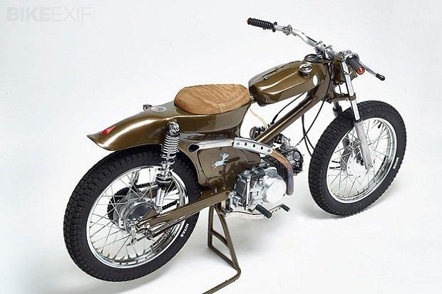Мастерская Super Motor Company собрала новый мотоцикл на базе Honda Super Cub. Изображение № 4.