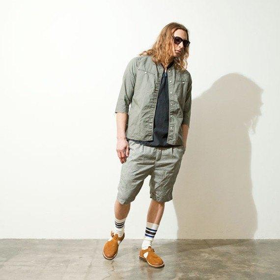 Марка Nonnative опубликовала лукбук летней коллекции одежды. Изображение № 15.