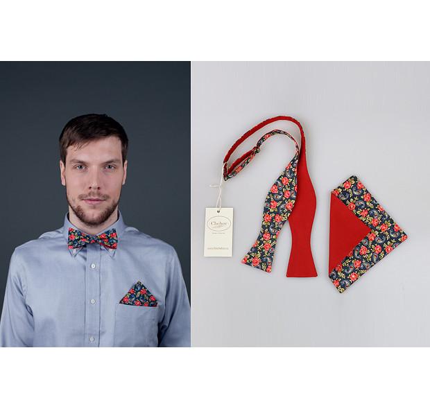 Московская марка Chehov выпустила новую коллекцию бабочек и галстуков. Изображение № 9.