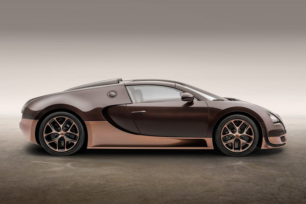 Бугатти показала новый Veyron Grand Sport Vitesse, посвященный брату основателя компании. Изображение № 3.