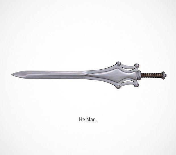 Итальянский дизайнер представил коллекцию ножей знаменитых персонажей. Изображение № 35.