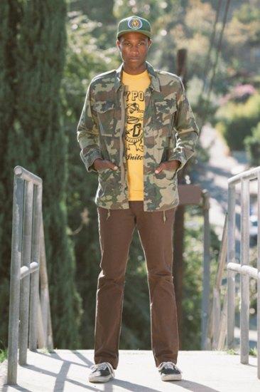 Марка Obey опубликовала лукбук весенней коллекции одежды. Изображение № 3.