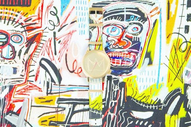 Марка Komono выпустила часы, оформленные работами Жан-Мишеля Баския. Изображение № 1.