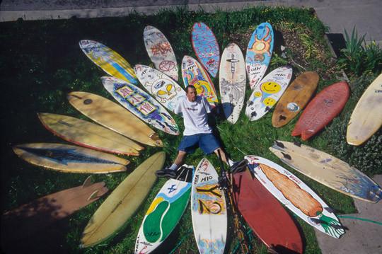 В Германии издали книгу «Surfers' Blood» —более ста фотографий, посвященных серфингу. Изображение № 3.