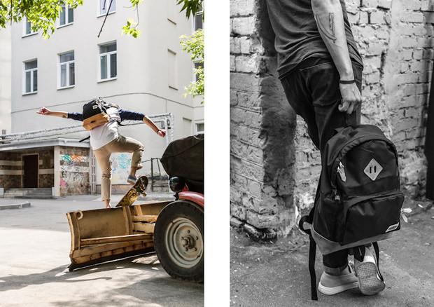 Магазин KixBox выпустил коллекцию рюкзаков и снял к ней лукбук. Изображение № 4.