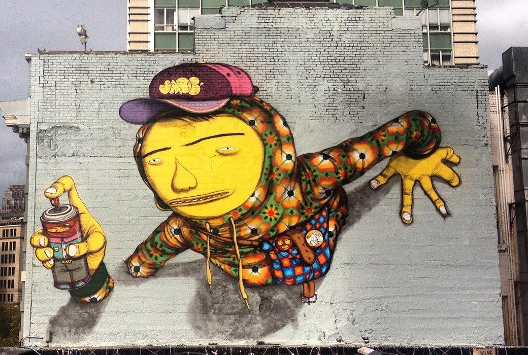 «Мы хотим сломать границу между богатством и бедностью»: Интервью с граффити-командой Os Gemêos. Изображение № 3.