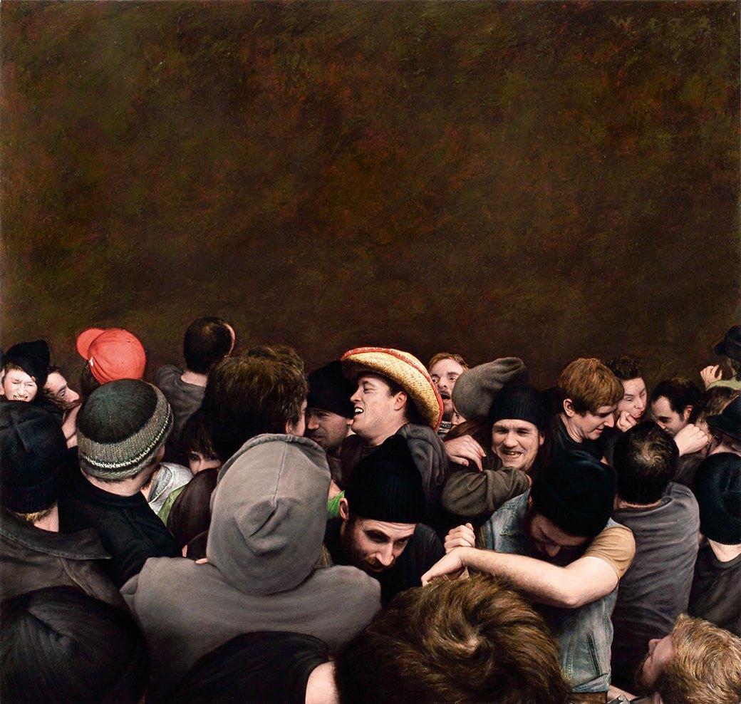 Эстетика мошпита: Хардкор-живопись, вдохновлённая Рубенсом и Босхом. Изображение № 14.