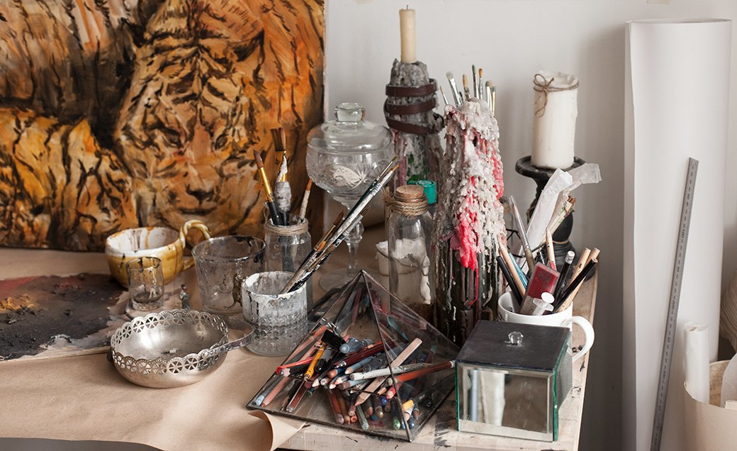 Дом культуры: Молодые московские художники и их мастерские. Изображение № 33.