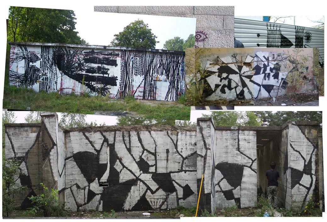 Банда аутсайдеров: Как уличные художники возвращают искусству граффити дух протеста, часть 2. Изображение № 9.