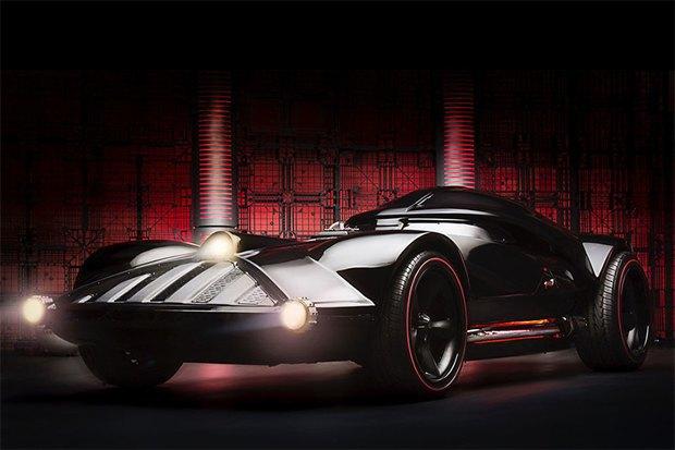 На Comic Con показали автомобиль Дарта Вейдера. Изображение № 1.