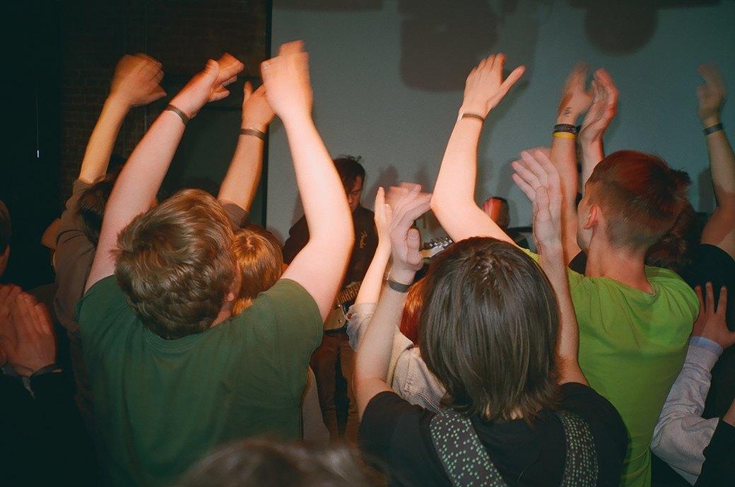 Фоторепортаж: Фестиваль «Новый шум» в «Артплее». Изображение № 1.
