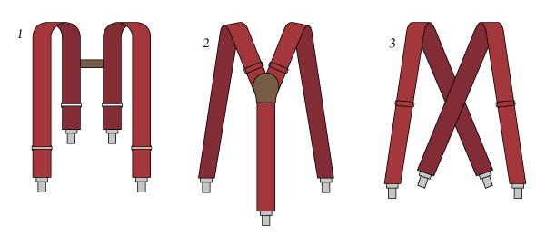 1. H-образные, 2. Y-образные, 3. X-образные. Изображение № 3.