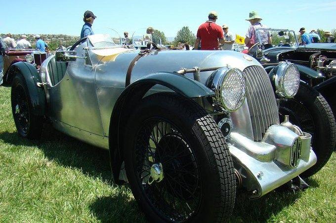73-летний автогонщик разбился на машине 1934 года выпуска. Изображение № 1.