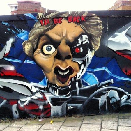 15 политических граффити из разных уголков мира. Изображение № 6.