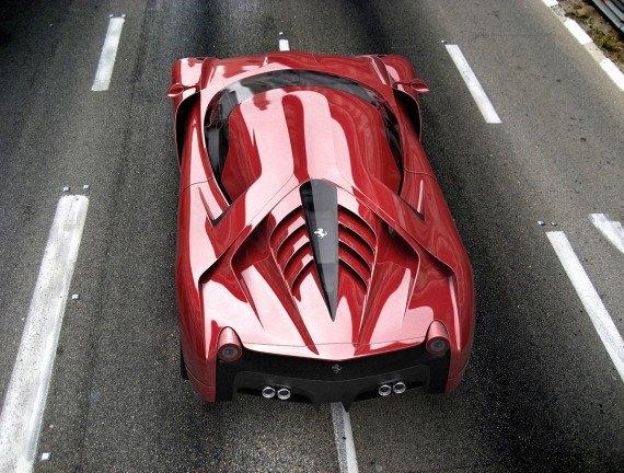 Представлен новый концепт суперкара на базе Ferrari 458 Italia. Изображение № 17.