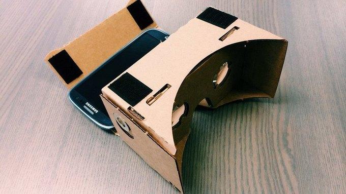 Google в шутку представил картонные очки виртуальной реальности. Изображение № 2.