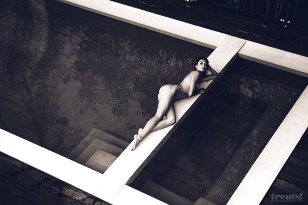 Американская фотомодель Моника Жаклин снялась для журнала Treats Magazine. Изображение № 3.