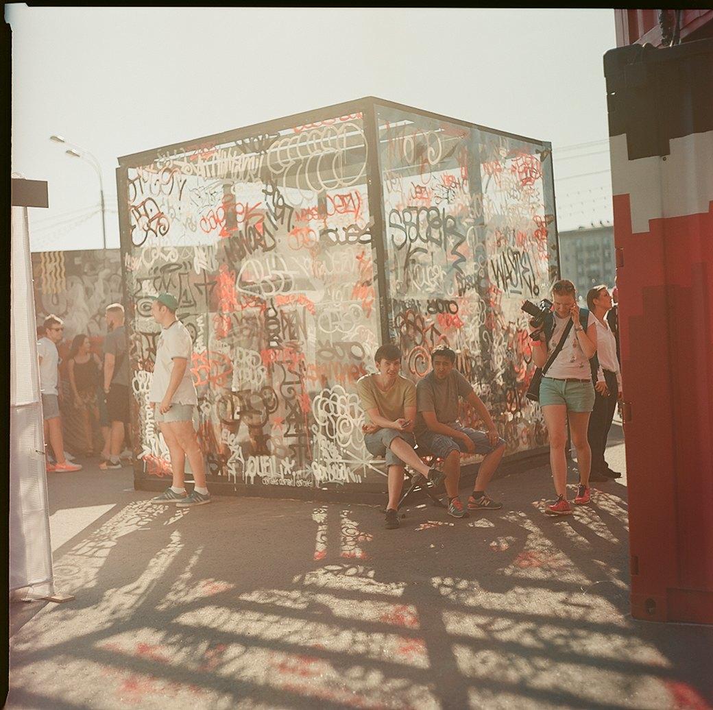 Фоторепортаж с фестиваля Faces & Laces в парке Горького. Изображение № 21.