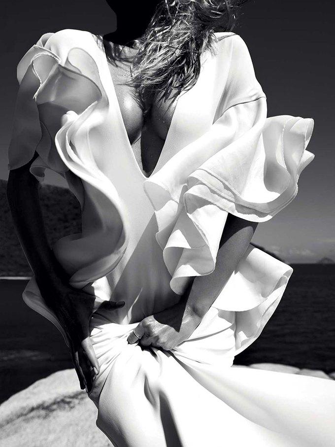 Модель Эдита Вилкевичуте снялась в фотосессии у фотографа Жана Велтерса. Изображение № 8.