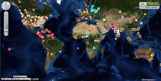 Создана интерактивная карта эпидемий. Изображение № 4.