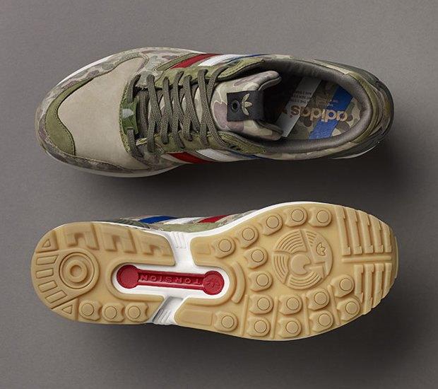 Марки A Bathing Ape, Undefeated и Adidas Originals представили совместную коллекцию кроссовок. Изображение № 6.