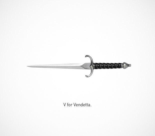 Итальянский дизайнер представил коллекцию ножей знаменитых персонажей. Изображение № 24.
