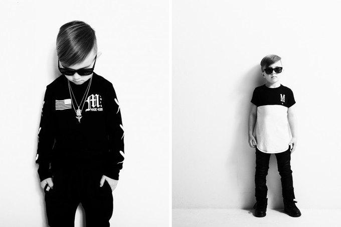 Бренд MADE Kids выпустил мрачную уличную одежду для детей . Изображение № 3.