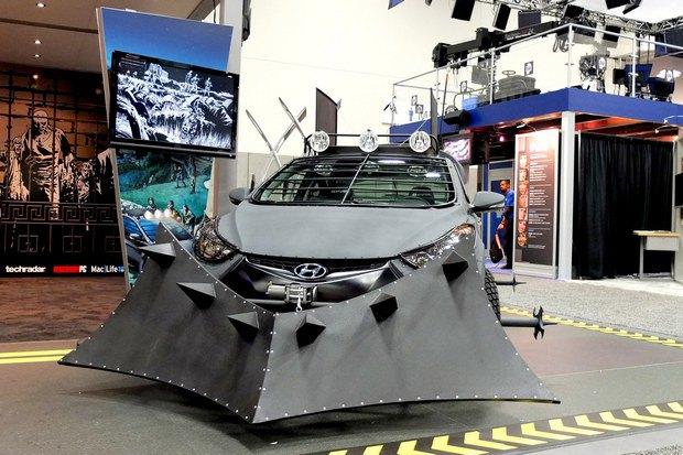 Hyundai создали машину для спасения от зомби. Изображение № 4.