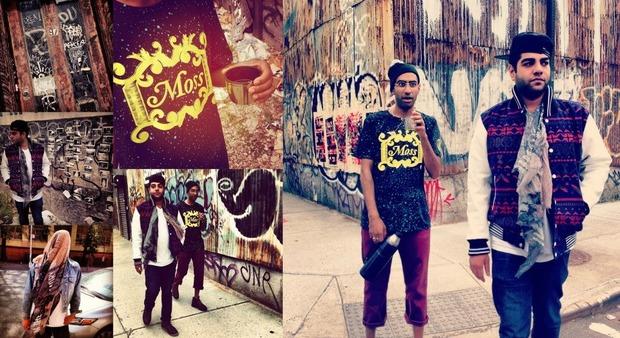Хип-хоп коллектив Das Racist снялся в осеннем лукбуке марки Moss. Изображение № 2.