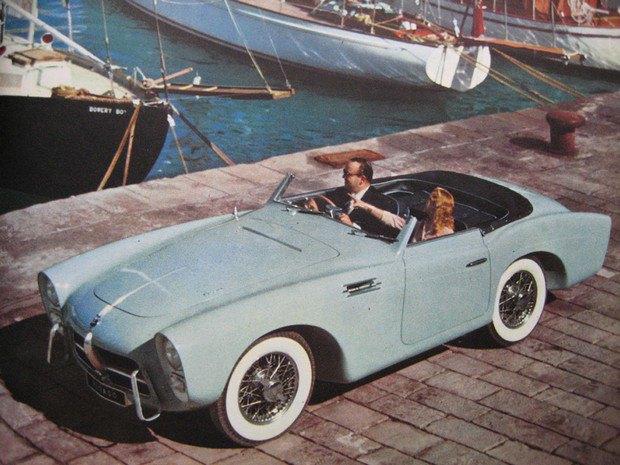 Редкий испанский спорткар Pegaso Z-102 1954 года выставлен на аукцион. Изображение № 7.