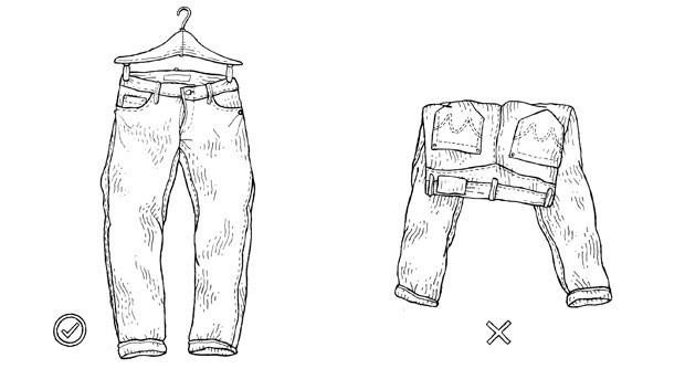 Совет: Как стирать джинсы из сухого денима. Изображение № 6.