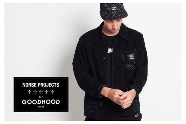 Марка Norse Projects и магазин GoodHood представили совместную коллекцию одежды. Изображение № 13.