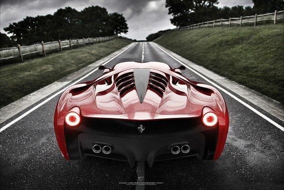 Представлен новый концепт суперкара на базе Ferrari 458 Italia. Изображение № 3.