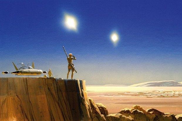 В сети появился оригинальный концепт-арт «Звёздных войн». Изображение № 7.