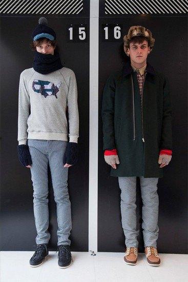 Марка Band Of Outsiders опубликовала лукбук осенней коллекции одежды. Изображение № 6.