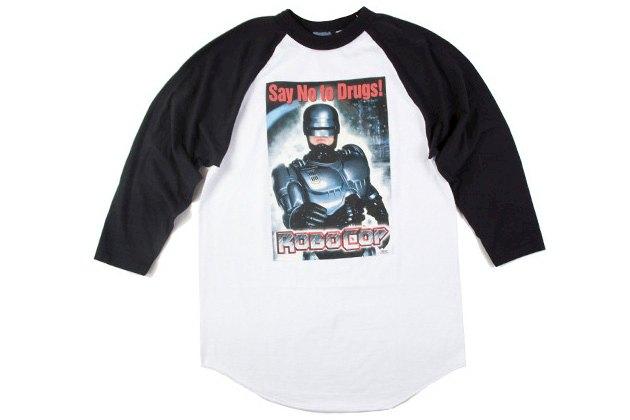 Марка Mishka выпустила коллекцию одежды в честь юбилея фильма «Робокоп». Изображение № 5.