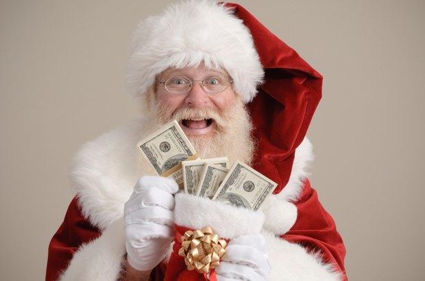 В интернете появился Биткоин-Санта, пополняющий электронные кошельки хакеров. Изображение № 1.