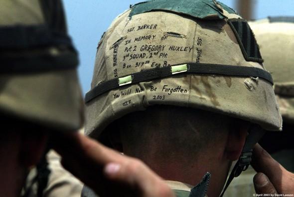 Военное положение: Одежда и аксессуары солдат в Ираке. Изображение № 40.