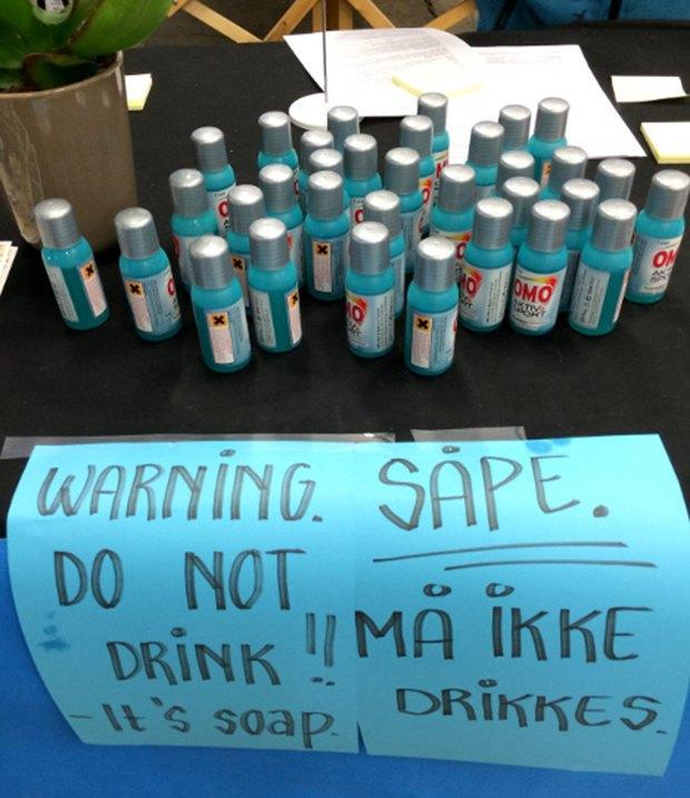Участники велогонки в Норвегии случайно выпили моющее средство. Изображение № 2.