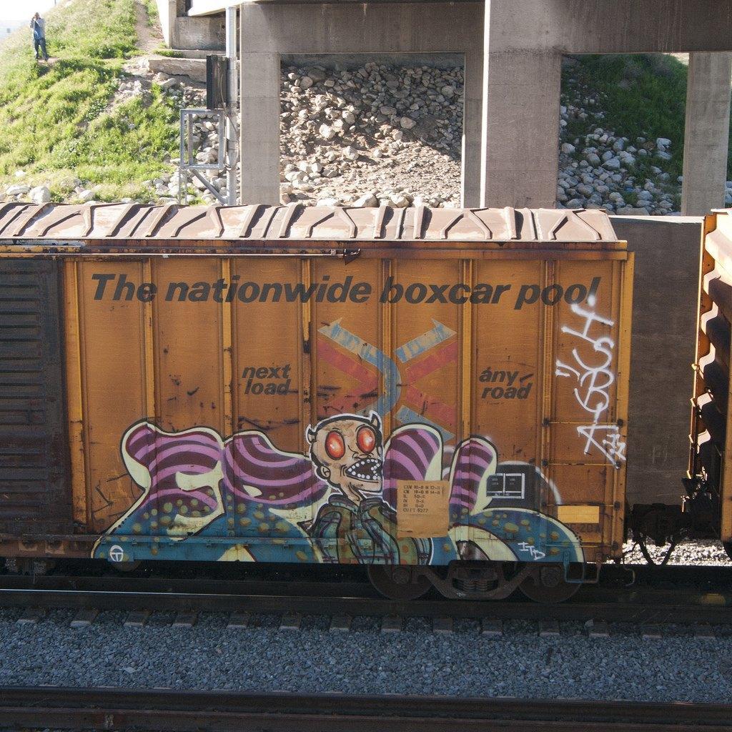 True 2 Death: Блог о разрисованных поездах из Южной Калифорнии. Изображение № 20.