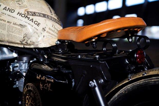 Итальянская мастерская Centro Modo Lodi представила «королевский» кастом модели Triumph Thruxton. Изображение № 7.